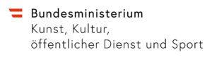 Logo - Bundesministerium Kunst, Kultur, öffentlicher Dienst und Sport